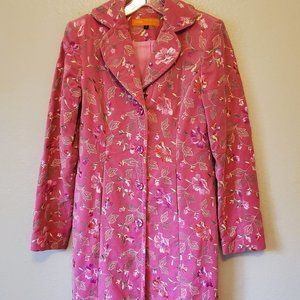 Cynthia Steffe embroidered coat